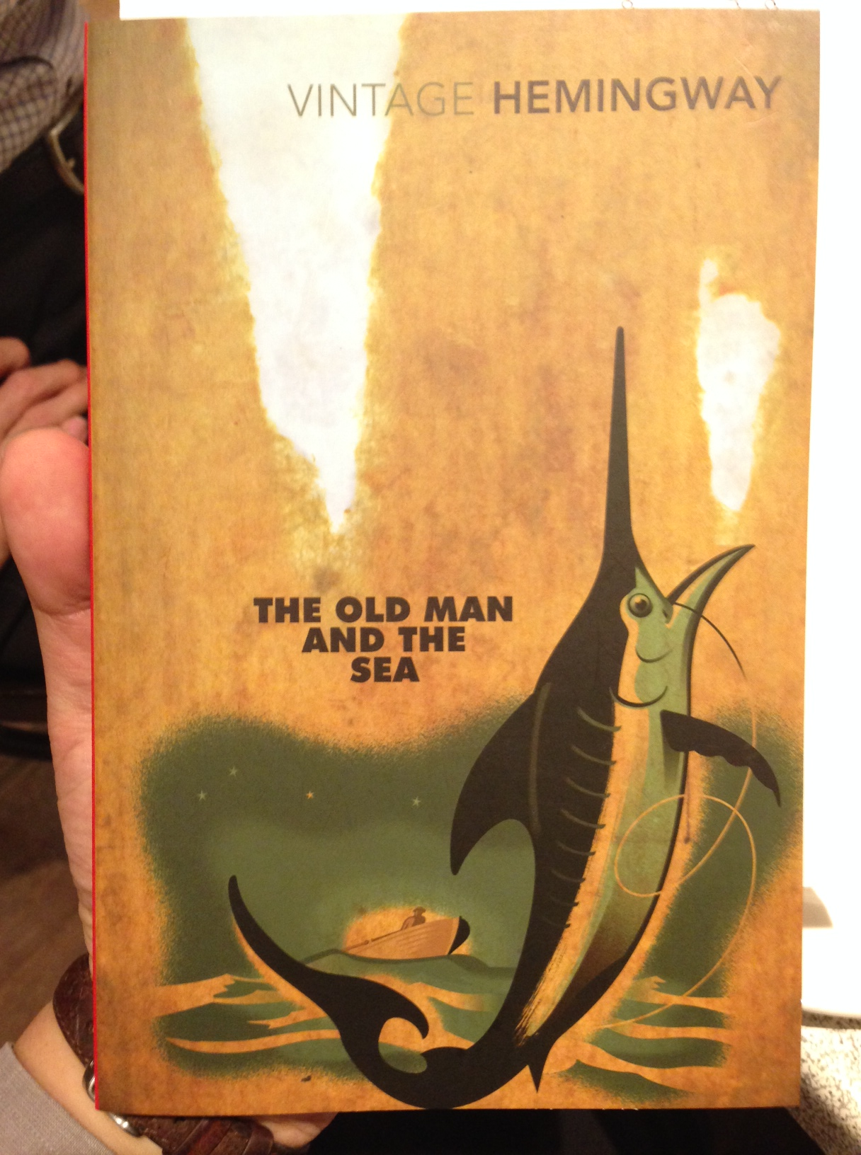 a review of old man and the sea The pearl is somewhat of a departure from john steinbeck's earlier works and has been compared to hemingway's the old man and the sea here's a review.